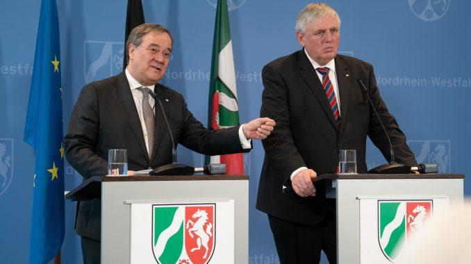 Pressekonferenz Coronavirus Land NRW